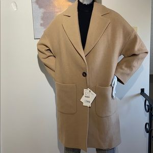 Zara Woman Wool oversized Coat